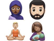 Ragazza con hijab, zombie, elfo, T-Rex: nuove Emoji Apple in arrivo