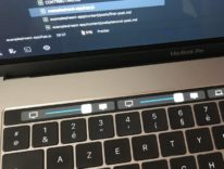 Con High Sierra la Touch Bar regola la luminosità di più monitor