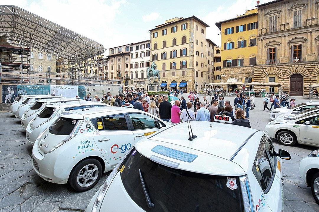 Taxi elettrici