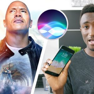 The Rock e Siri