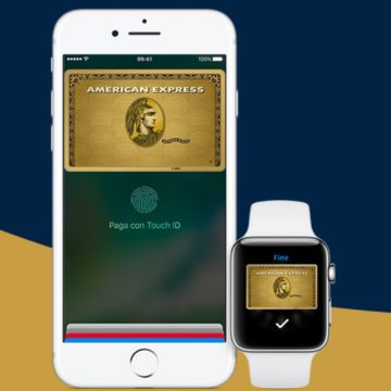 american express apple pay italia