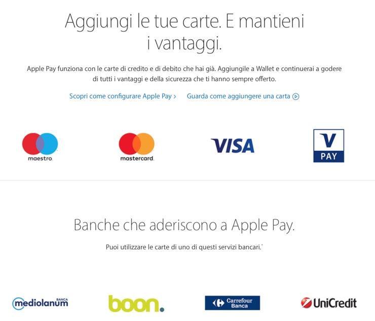 apple pay italia 7 luglio