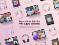 Il Back to School Apple 2017 in USA regala Beats wireless, con l'acquisto di Mac e iPad Pro