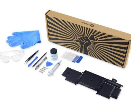 batteria macbook pro retina kit ifixit