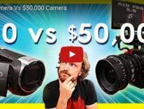 Le differenze fra un videocamera da 50 $ e una da 50.000? Ecco il video che le mostra
