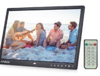 Cornice digitale 15'' con telecomando in offerta a metà prezzo: 76,65 euro