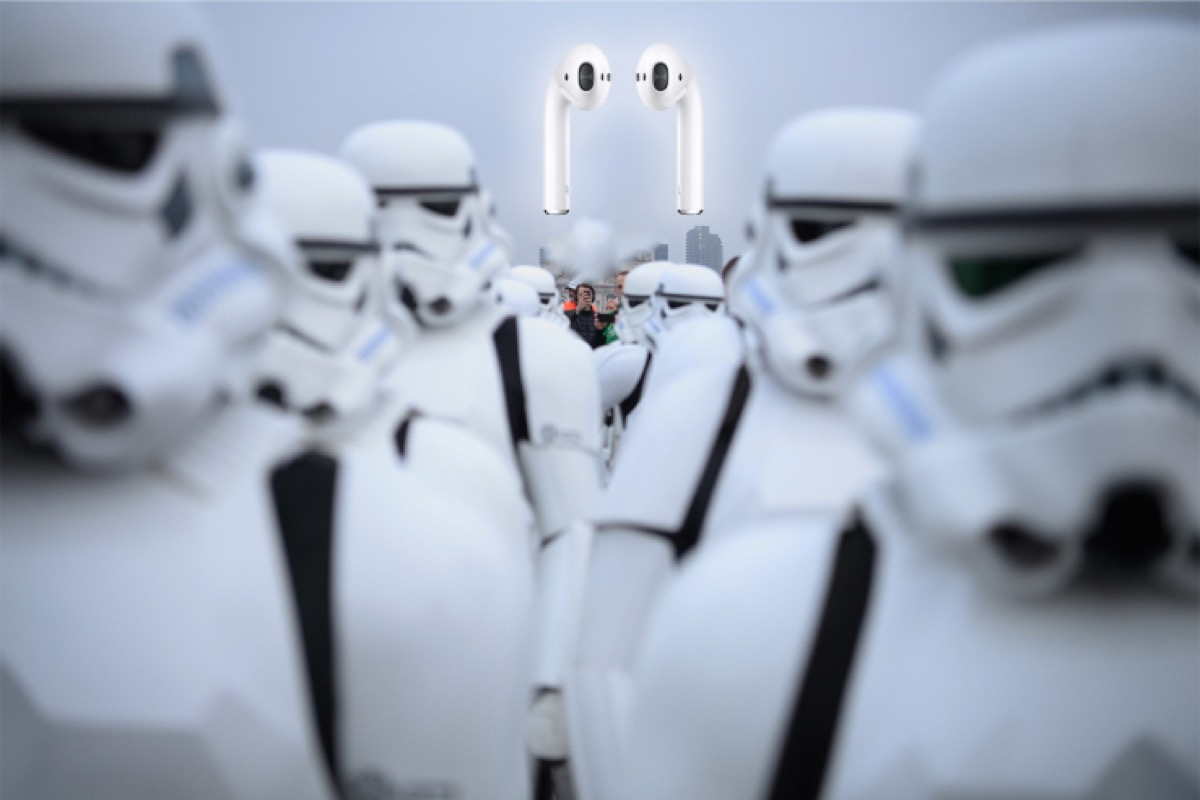airpods stormtrooper