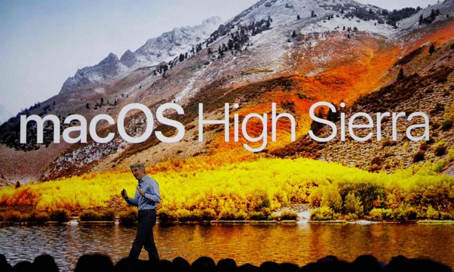 High Sierra software professionali Apple