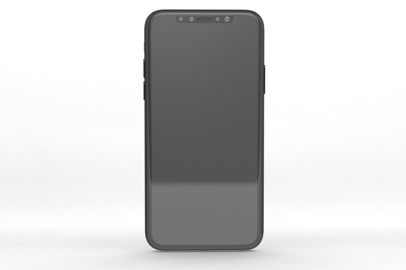 Il presunto design del futuro iPhone 8