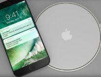 Il presunto modulo di ricarica wireless di iPhone 8 mostrato in una foto