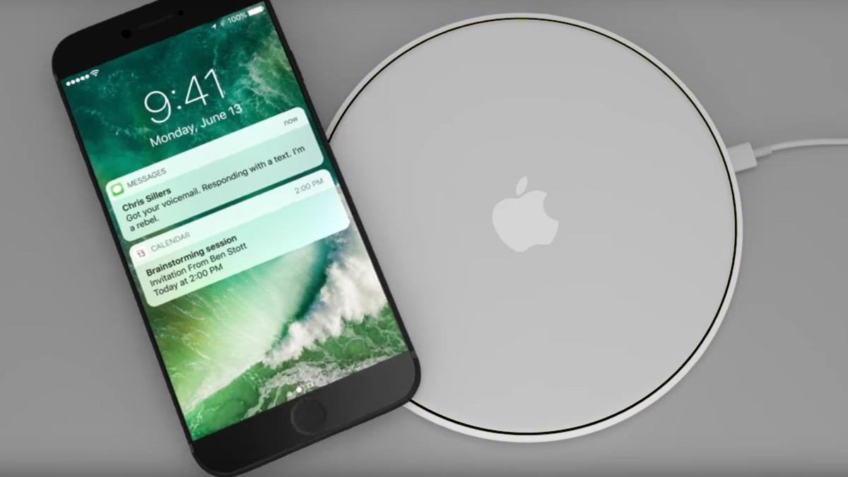 velocità della ricarica wireless di iPhone 8