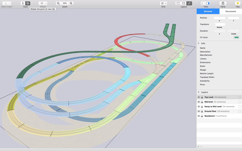 Schemi Elettrici Programma Gratis : Railmodeller è lapplicazione mac per progettare layout ferroviari