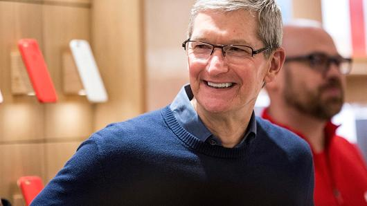 Tim Cook. Foto: Andrew Burton | Getty Images