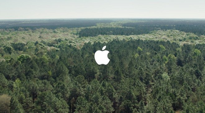 Forest Stewardship Council Green Apple