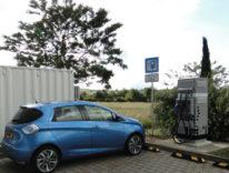 Ricarica dei veicoli elettrici rapida in autostrada grazie a batterie di seconda vita