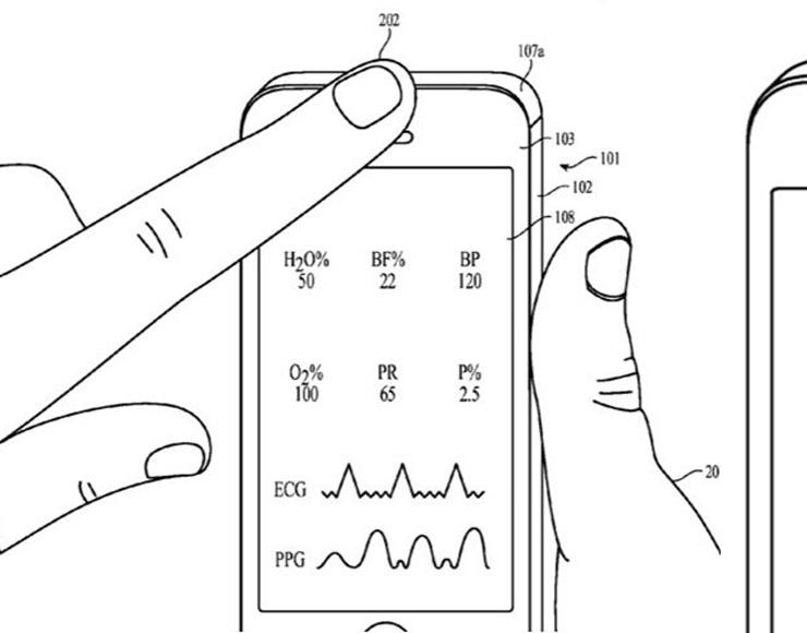 Brevetto Apple di sensore per misurazioni di natura sanitaria