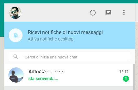 whatsapp web supporta