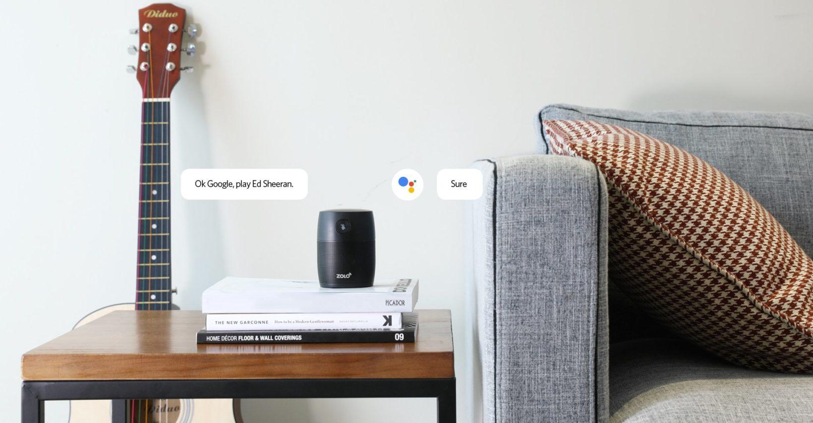 Google Assistant in uno speaker Zolo