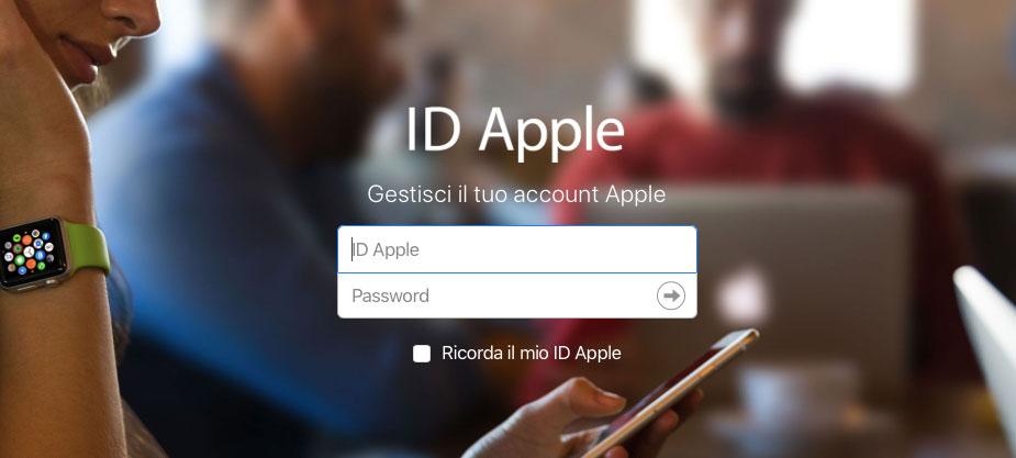 Sicurezza di Apple ID