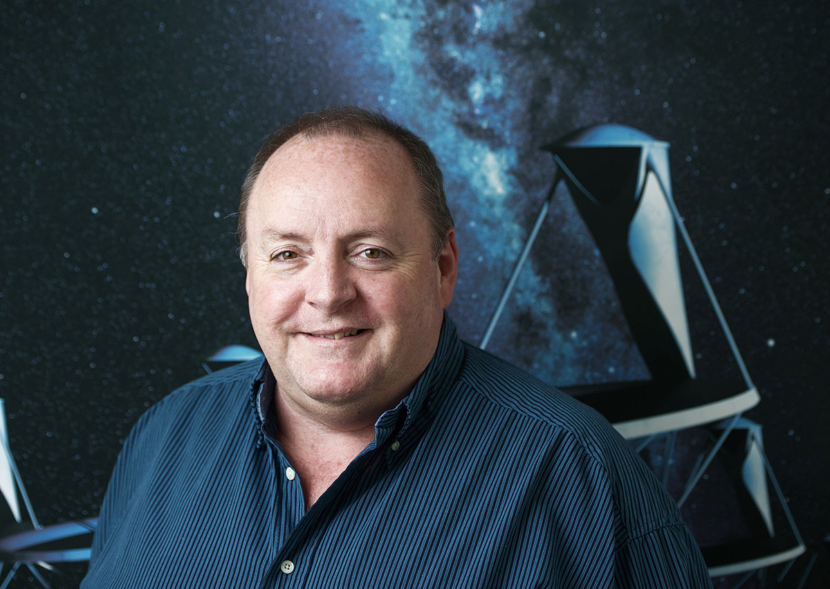 Il Prof. Philip Diamond
