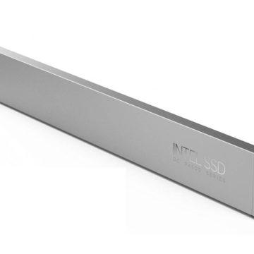 Intel SSD tipo righello