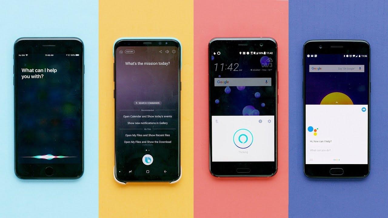 Siri contro Google Assistant contro Bixby contro Alexa