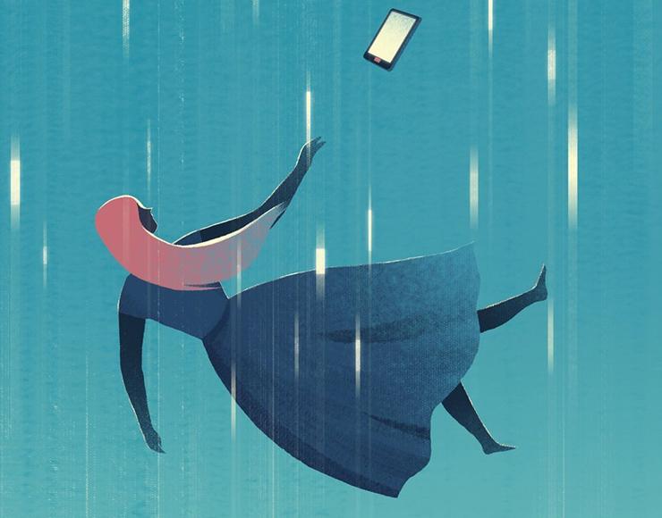 teenager e smartphone
