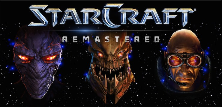 StarCraft Remastered logo 2