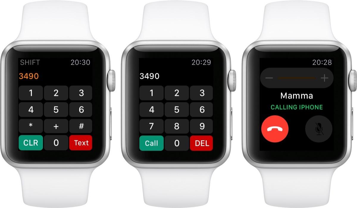 apple watch telefona