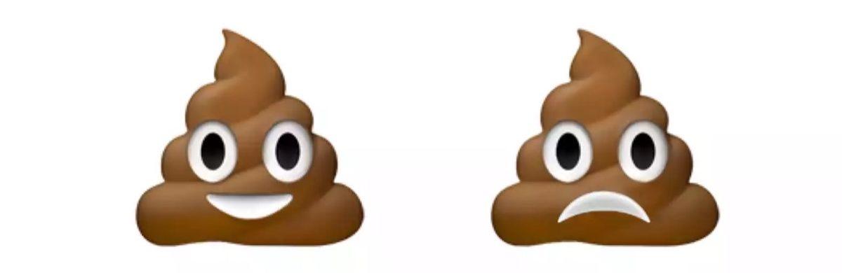 emoji 2018 cacca triste