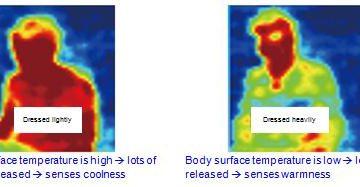 Rilevazione del livello di sensazione termica di un individuo, alle stesse condizioni ambientali, utilizzando il sensore a infrarossi