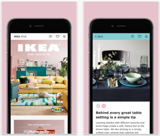 Il catalogo ikea 2018 un 39 app da sfogliare con iphone e for Catalogo ikea on line