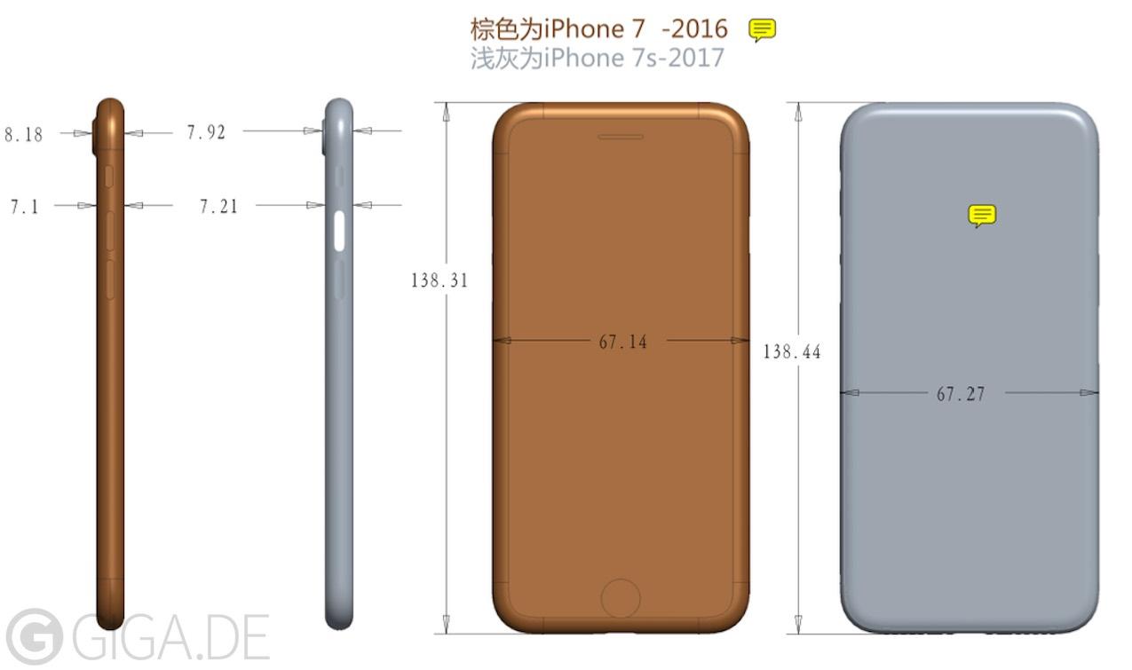 iphone 7s schema