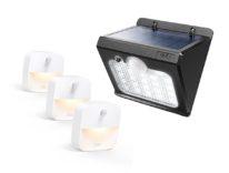 Lampade LED con sensore di movimento per interni esterni a partire da 15,99 euro