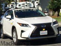 Auto Apple, test con SUV e nuovi sensori LIDAR