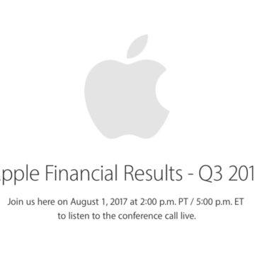 risultati fiscali apple Q3 2017