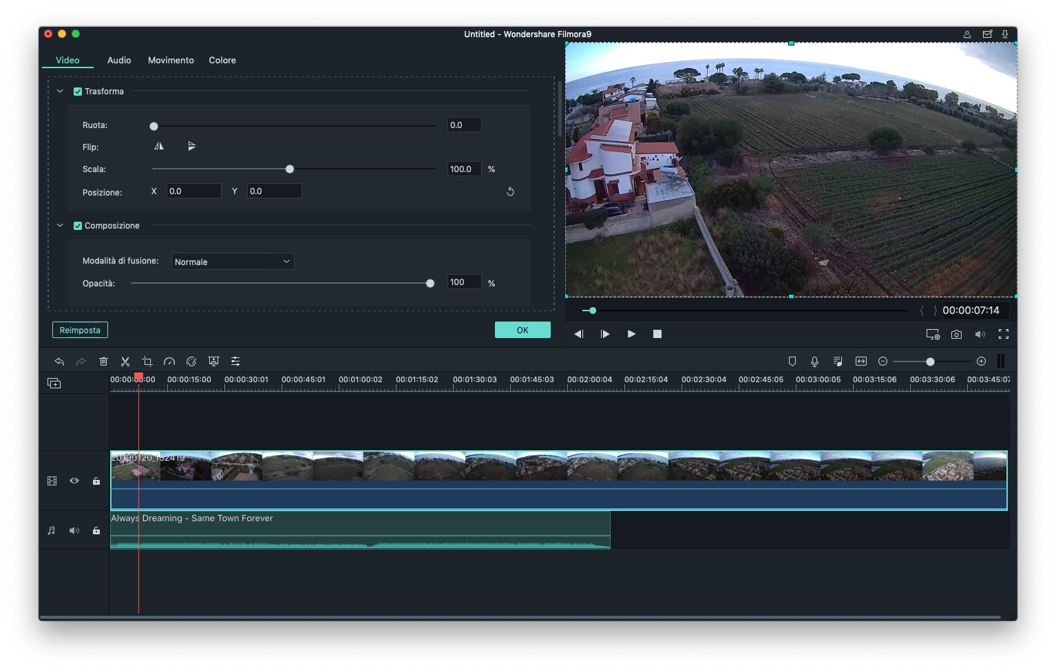 Recensione Filmora Video Editor, l'alternativa iMovie Mac e PC economica e semplice da usare