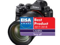 Sony è da record agli EISA Award: 7 premi tra fotocamere, obiettivi e super TV 4K