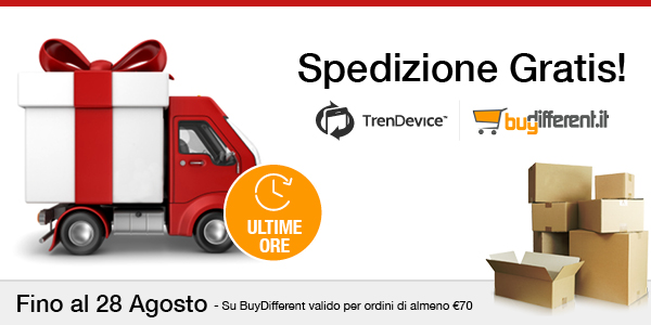 TrenDevice e BuyDifferent