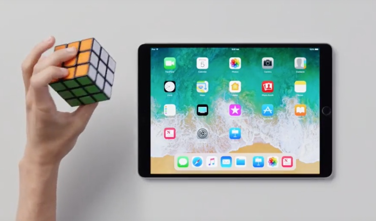 spot apple ipad con ios 11 icon 740