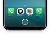 Il tasto Home di iPhone 8 si potrà nascondere e ridimensionare