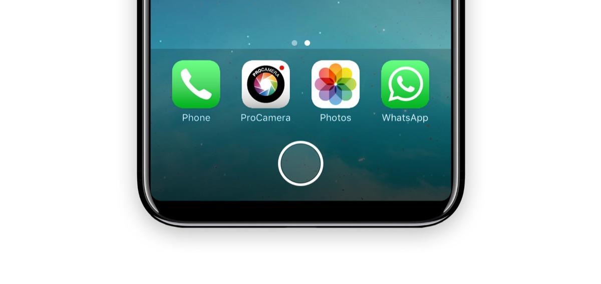 tasto home iphone 8