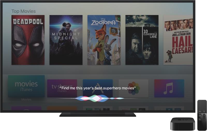 Siri su Apple TV