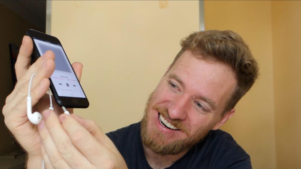 cuffie su iPhone 7