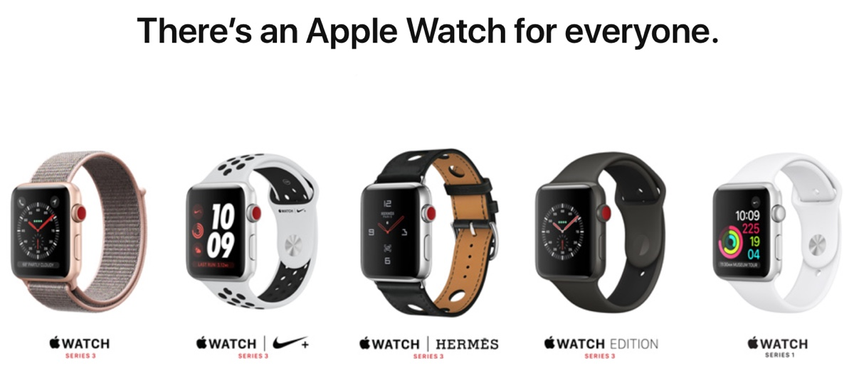 Apple Watch 3 cellular tutti