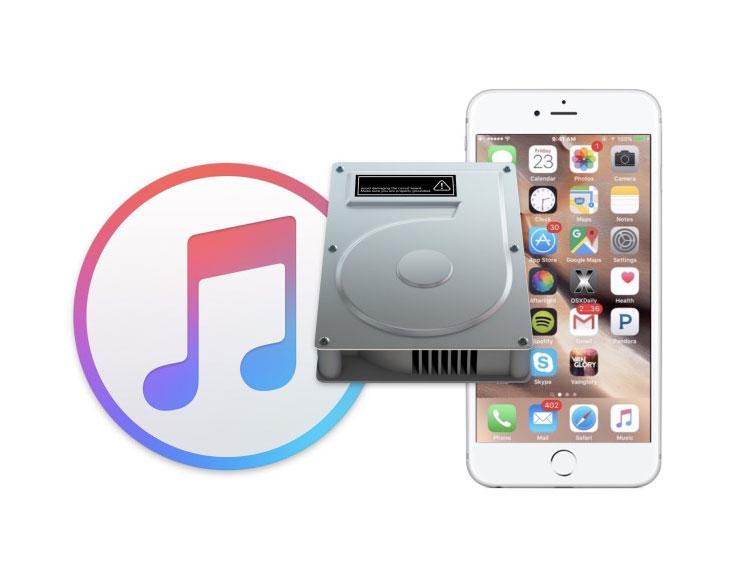 Backup con iTunes