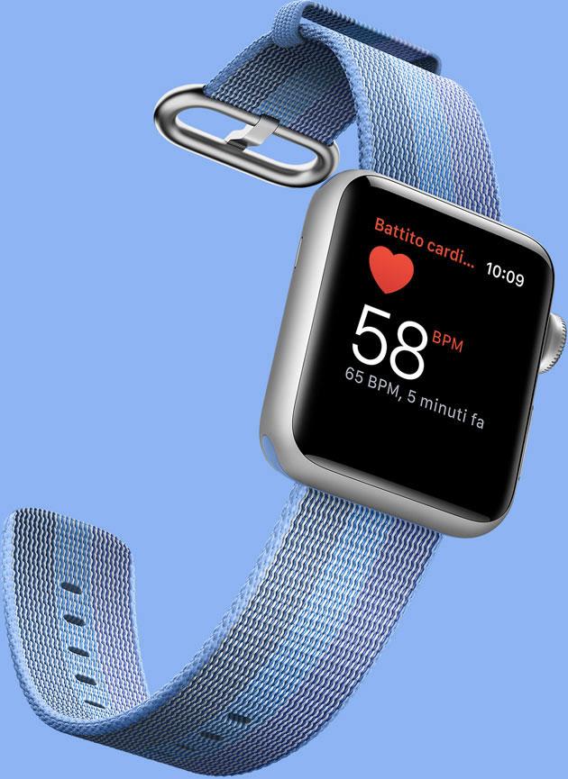 Controllo del cuore con Apple Watch