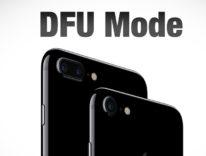 Come mettere in DFU iPhone 8, iPhone 8 Plus e iPhone X