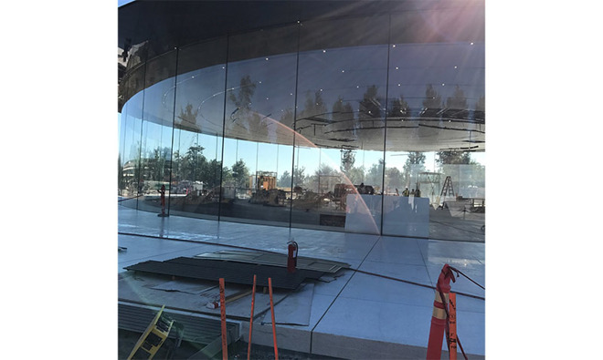 Dentro Steve Jobs Theater 2
