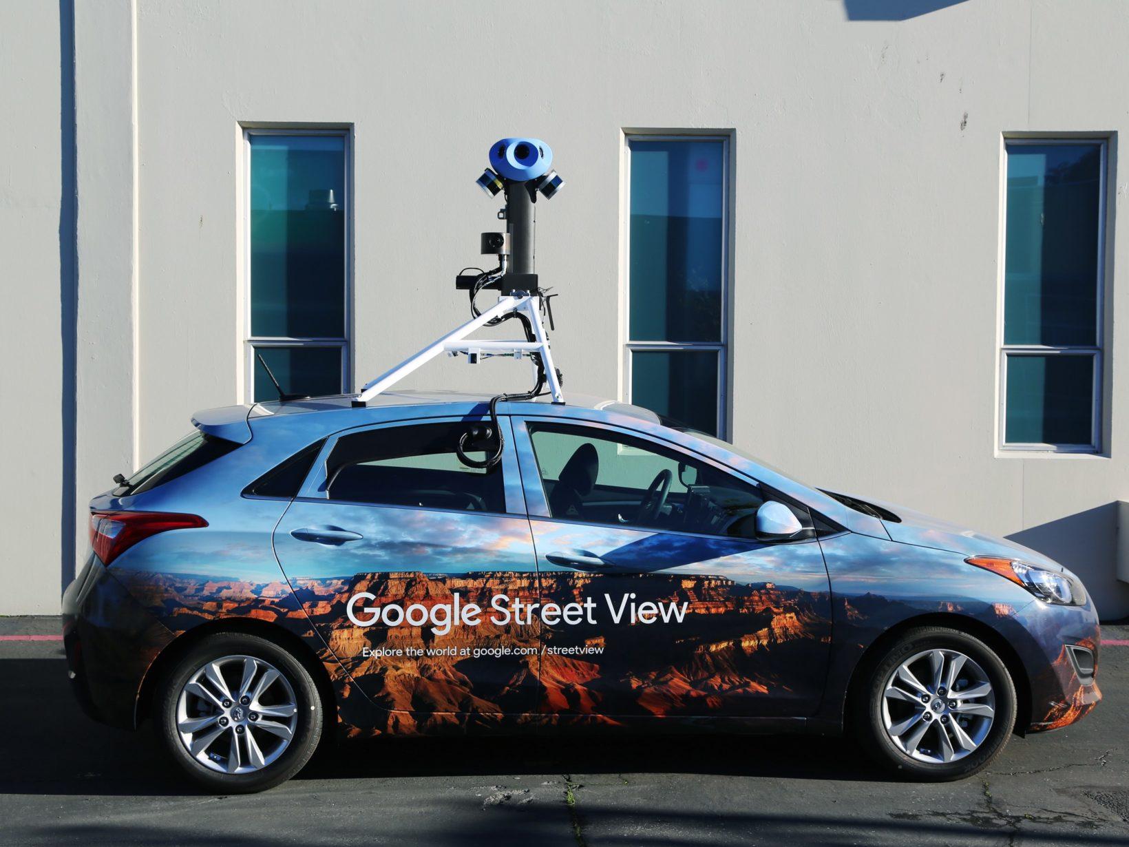 fotocamere di Street View
